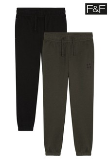 F&F Natural Joggers Two Pack
