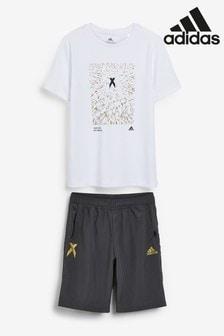 adidas White/Grey X Set