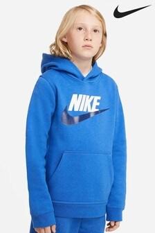 Nike Blue Overhead Hoody
