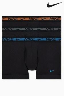 Nike Black Flex Micro Trunks Three Pack