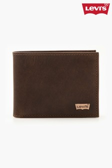 Levi's® Leather Bifold Wallet