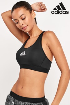 adidas Black Don't Rest Alphaskin Padded Bra