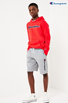 Champion Bermuda Shorts with Vertical Large Script Logo