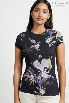 Ted Baker Blue Dancie Decadence Printed Tee
