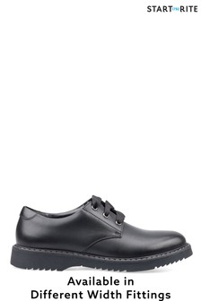 Start-Rite Impact Black Leather Shoes