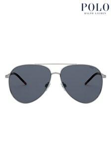 Polo by Ralph Lauren Aviator Style Sunglasses