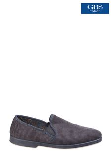 GBS Grey Twin Gusset Slippers