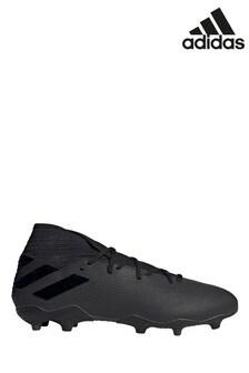 adidas Black Nemeziz P3 Firm Ground Football Boots