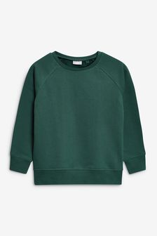 Green Crew Neck Sweater (3-16yrs)