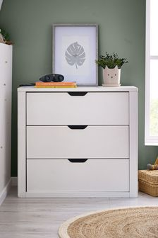 White Compton White  Chest of Drawers