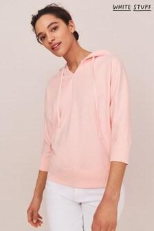 White Stuff Pink Spring Hoodie