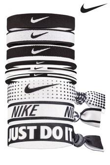 Nike Black Ponytail Holders 9 Pack