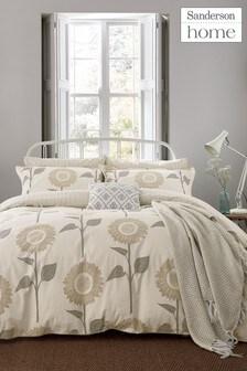 Sanderson Home Sundial Sunflower Cotton Duvet Cover