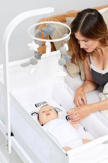 White Snuz Baby Mobile