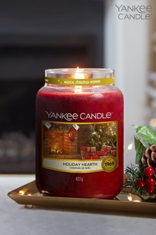 Yankee Candle Classic Large Jar Holiday Hearth Candle