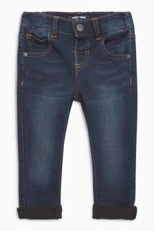Dark Blue  Super Soft Skinny Jeans With Stretch (3mths-7yrs)