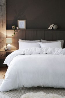 Brushed Cotton Duvet Cover And Pillowcase Set