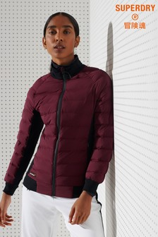 Superdry Sport Motion Hybrid Mid Layer Jacket