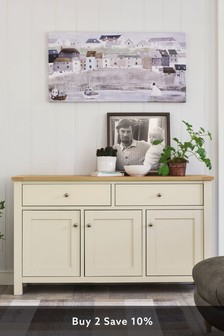 Cream Malvern Large Sideboard