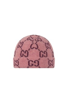 Baby Boys Pink Knitted Hat