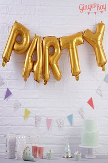 Ginger Ray Party Letter Balloons