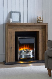 Oak Effect Bronx Fireplace Surround