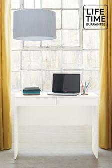 White Flynn Desk/Console Dressing Table