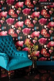 Tian Chinese Lantern Wallpaper by Arthouse