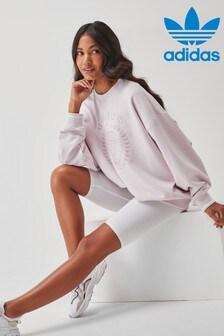 adidas Originals Tennis Luxe Sweat Top