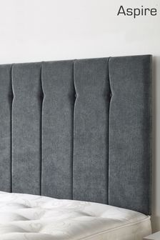 Grey Amberley Headboard by Aspire Furniture