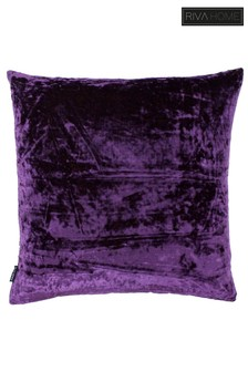 Syon Crushed Velvet Cushion by Riva Home