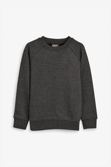 Charcoal Crew Neck Sweater (3-17yrs)
