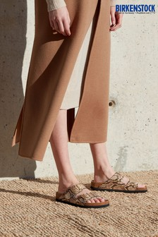 Birkenstock® Snake Print Arizona Sandals