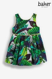 Baker by Ted Baker Leaf Print Dress
