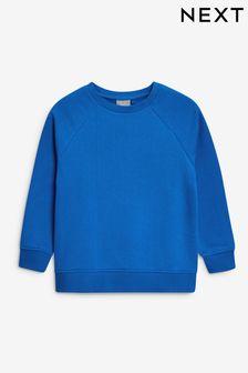 Blue Crew Neck Sweater (3-17yrs)