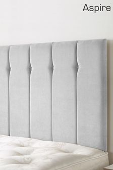Silver Amberley Headboard by Aspire Furniture