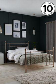 Rose Gold Leamington Bed