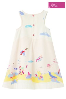 Joules Multi Underwater Bunty Border Dress