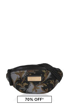 Kids Black/Gold Belt Bag