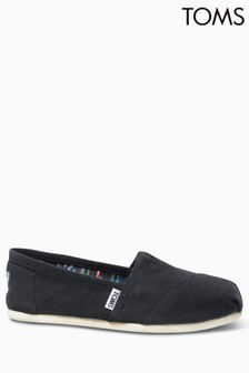 TOMS Black Canvas Classic Pump