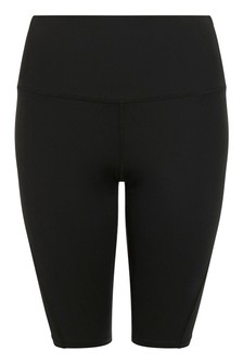 Accessorize Black Capri Short Leggings