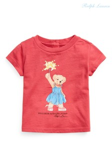Ralph Lauren Red Bear T-Shirt