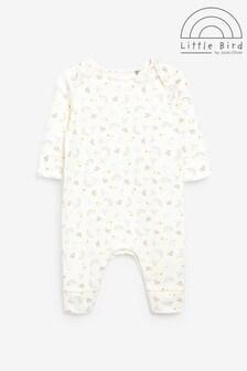 Little Bird Printed Sleepsuit