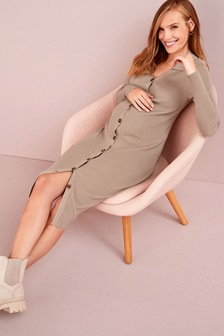 Natural Maternity 3-In-1 Knit Dress
