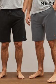 Dark Grey/Black Lightweight Shorts 2 Pack