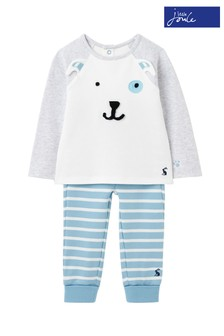 Joules Mack Organically Grown Cotton Jersey Appliqué Set