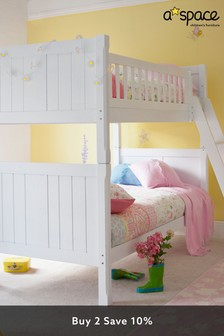 Silk White Aspace Charterhouse Bunk Bed