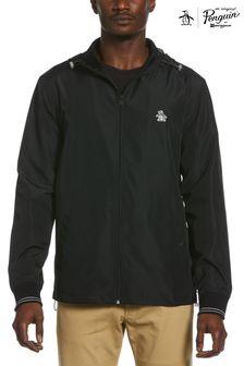 Original Penguin® Black Hooded Ratner Jacket