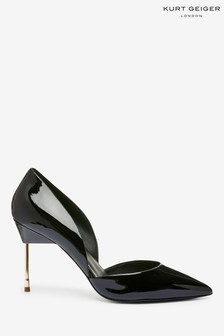 Kurt Geiger London Black Bond Patent Heels