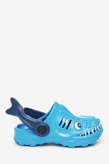 Blue Shark Clogs (Younger)